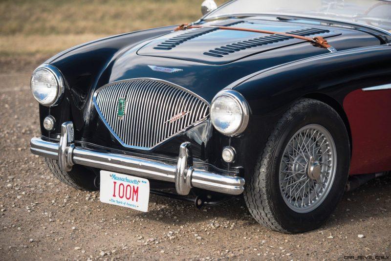 1956 Austin-Healey 100M Le Mans Speedster in Left Hand Drive 7