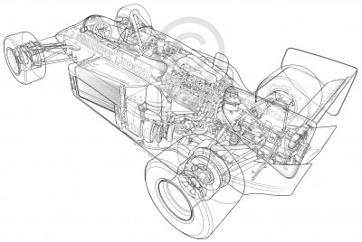 1986 Lotus 98T/3 F1 Car of Ayrton Senna - Animated 3D Cutaway by Roy Scorer, Tech Illustrator Extraordinaire 1986 Lotus 98T/3 F1 Car of Ayrton Senna - Animated 3D Cutaway by Roy Scorer, Tech Illustrator Extraordinaire
