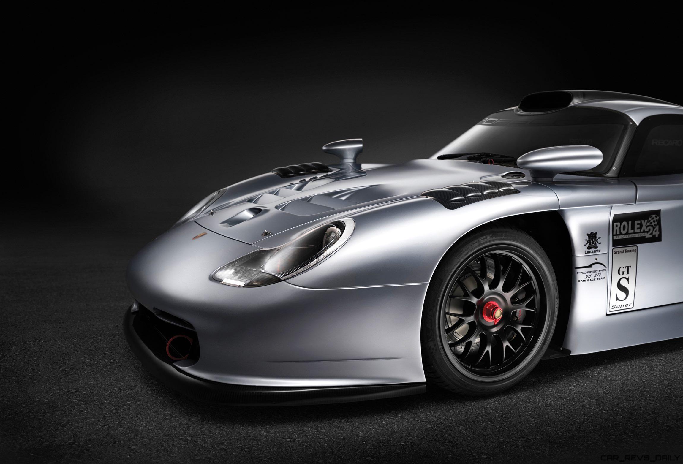1997-Porsche-911-GT1-Evolution-15 Terrific Porsche 911 Gt1 98 Road Car Cars Trend