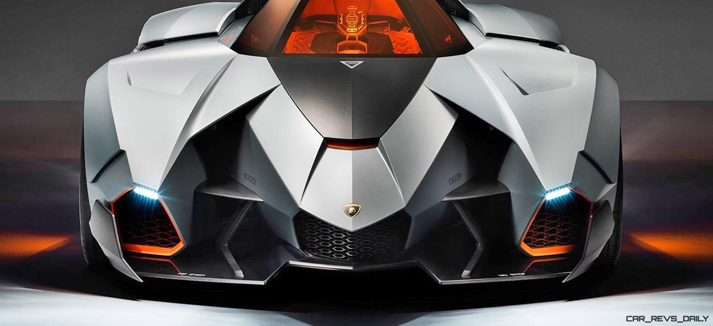 Aviation theme concept Lamborghini Egoista: the most interesting about the car for three million dollars 63