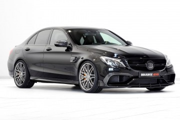 650HP, 3.7s BRABUS C63-S - Remote Exhaust, 200MPH vMax for Juiciest AMG 4.0TT Yet