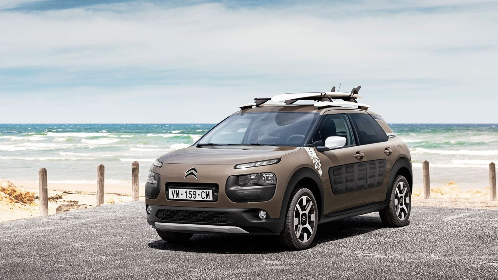 2016 citroen c4 cactus rip curl edition dark detailing gripcontrol glass roof for surfer. Black Bedroom Furniture Sets. Home Design Ideas