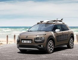 2016 Citroen C4 CACTUS Rip Curl Edition – Dark Detailing, GripControl + Glass Roof for Surfer Special