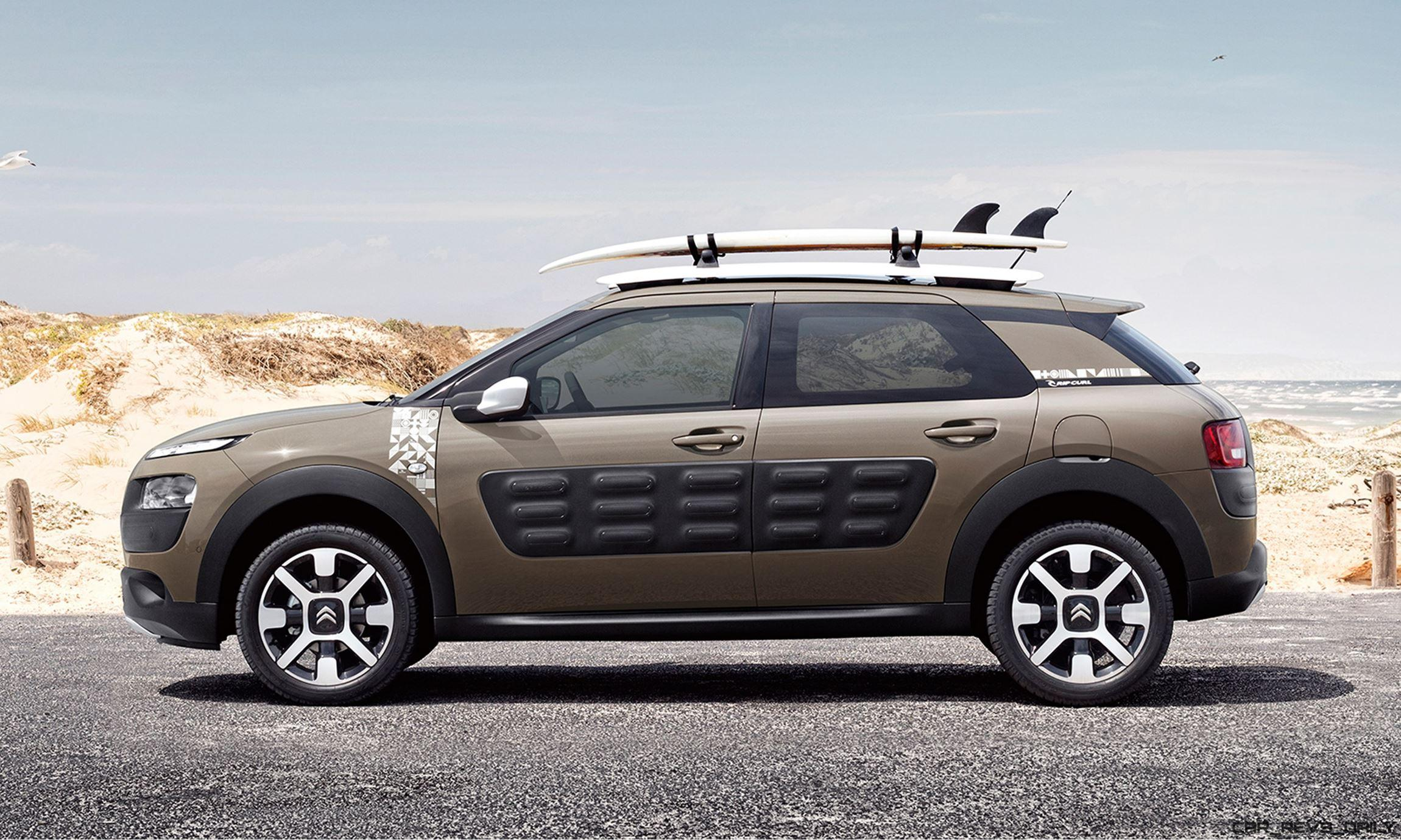 2016 citroen c4 cactus rip curl edition dark detailing. Black Bedroom Furniture Sets. Home Design Ideas