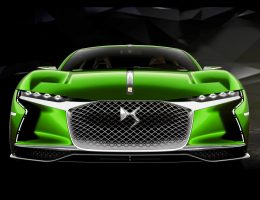 2016 DS E-TENSE – Fantasy Color Visualizer of FULL-BALLS Supercar