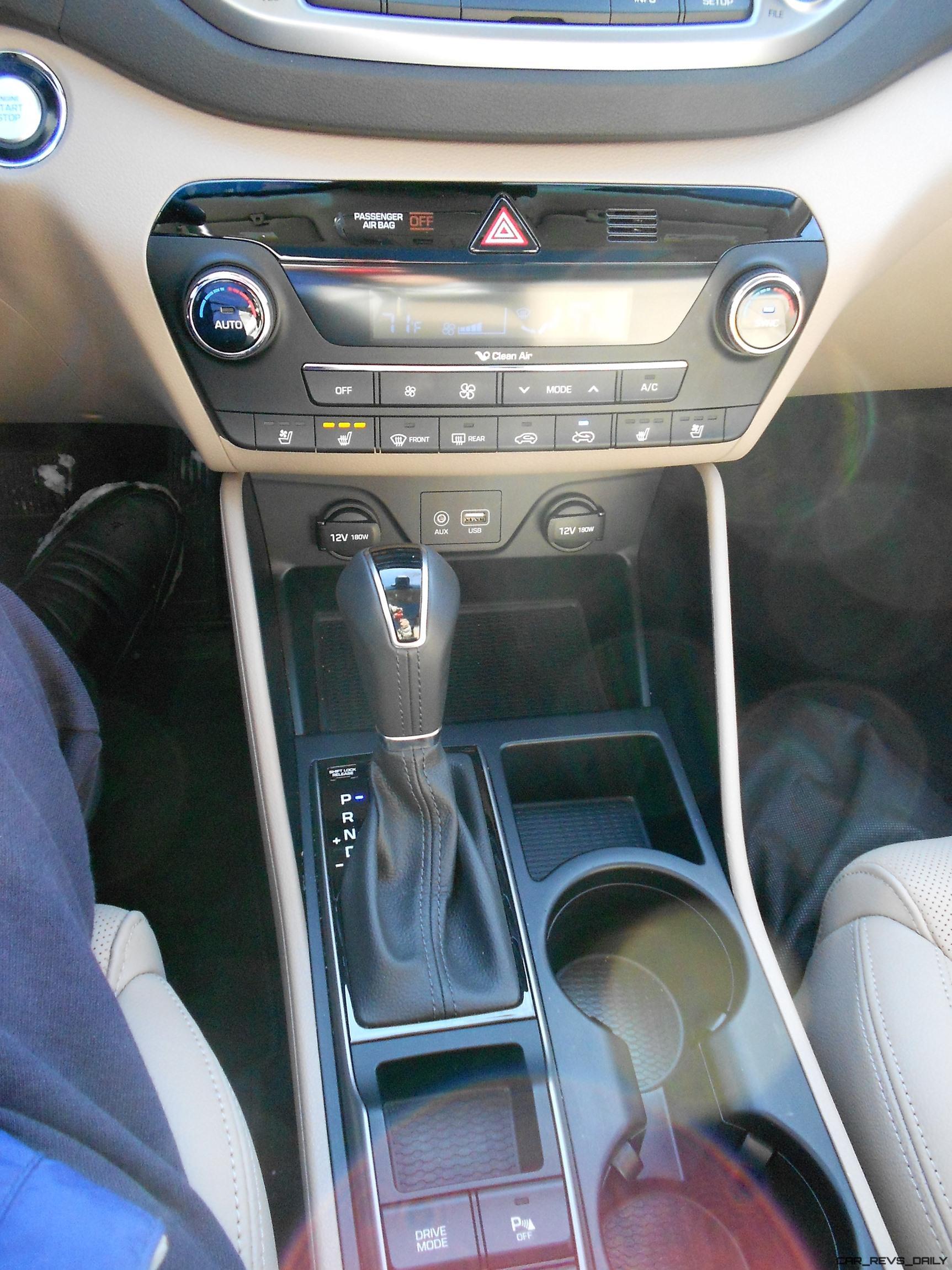 2016 Hyundai Tucson Review Interior Photos 14