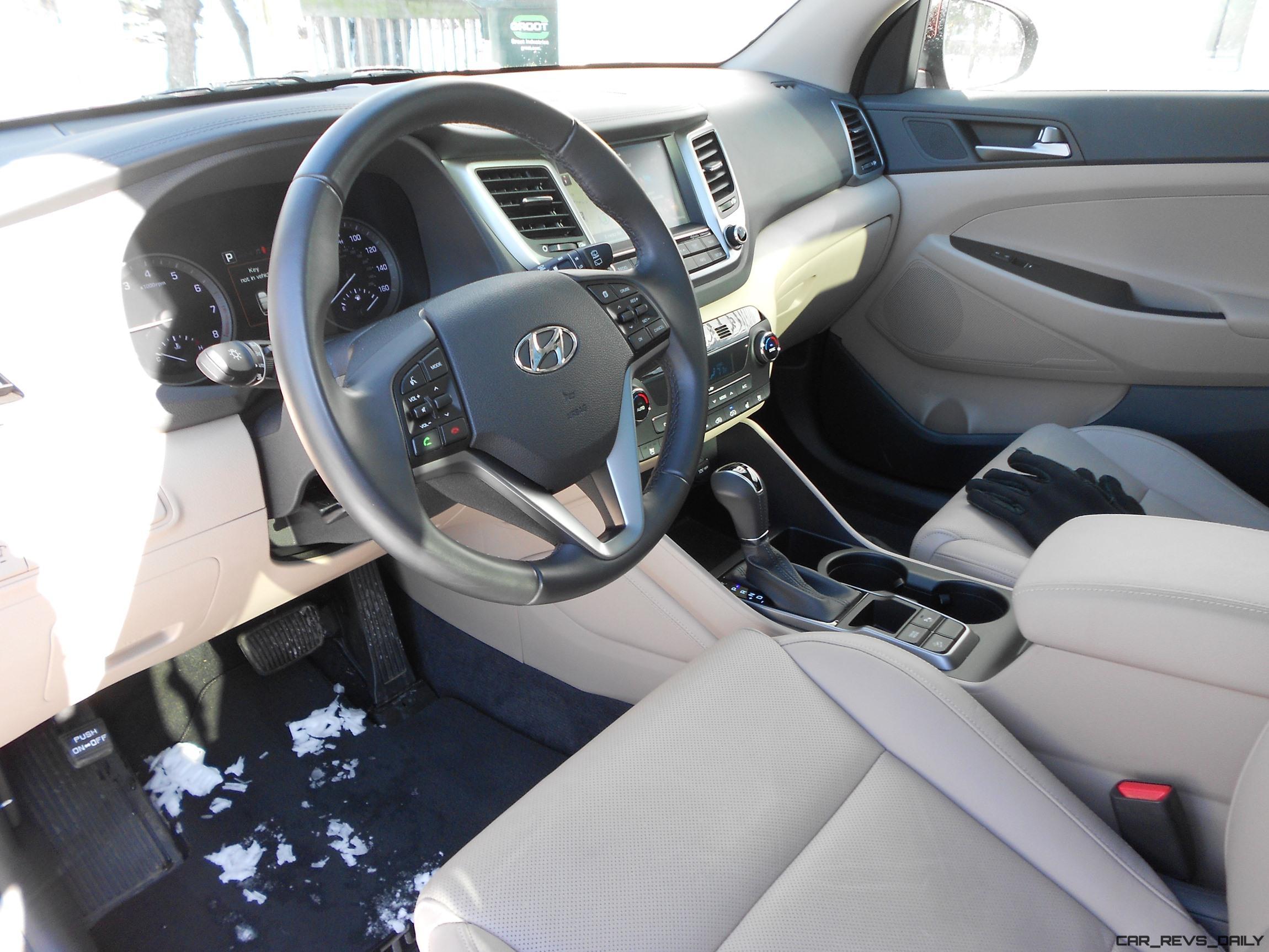 2016 Hyundai Tucson Review Interior Photos 3