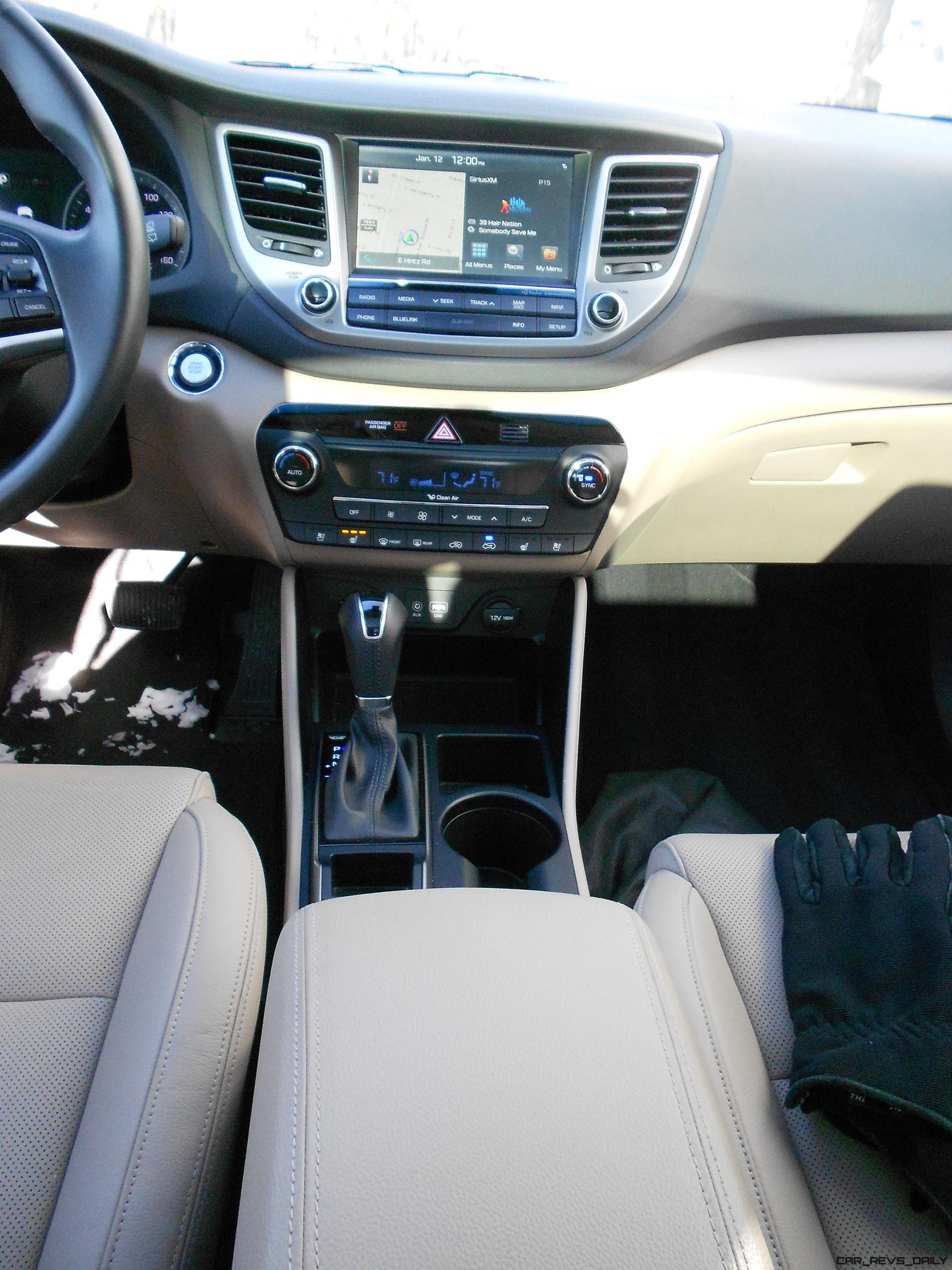 hawkeye drives 2016 hyundai tucson limited 1 6t review car revs. Black Bedroom Furniture Sets. Home Design Ideas