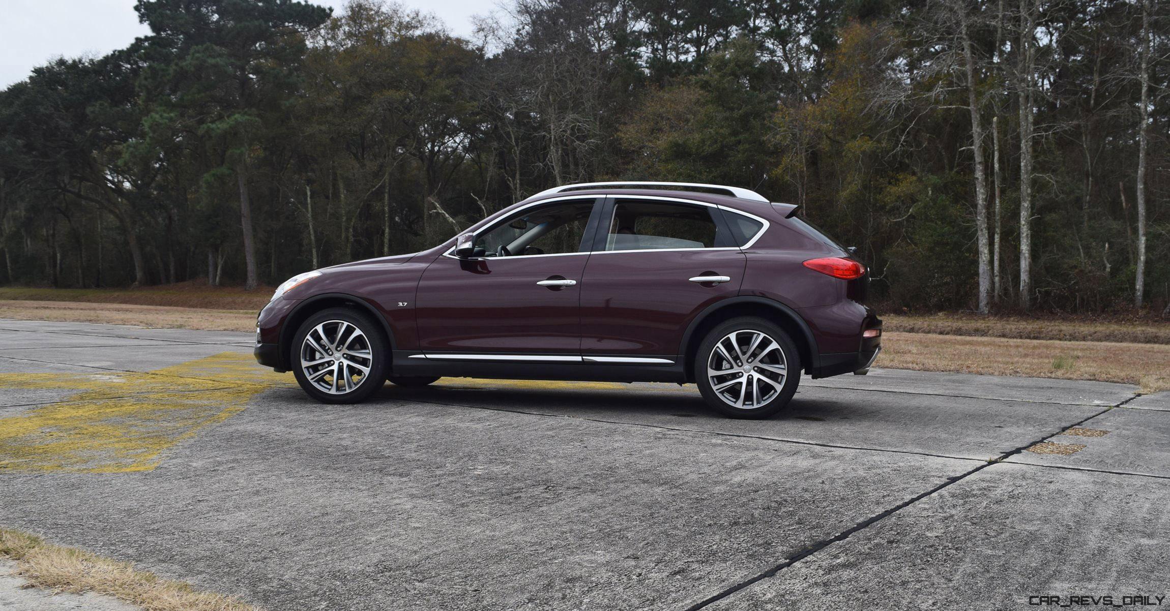 road test review 2016 infiniti qx50 car revs. Black Bedroom Furniture Sets. Home Design Ideas