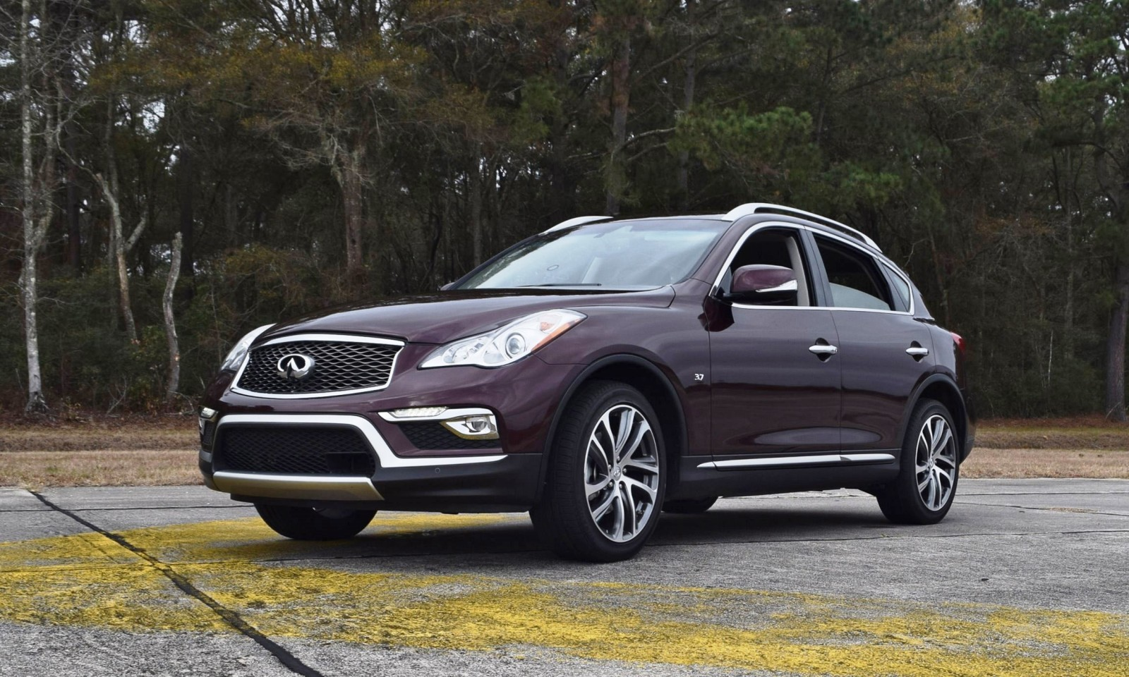 road test review 2016 infiniti qx50. Black Bedroom Furniture Sets. Home Design Ideas