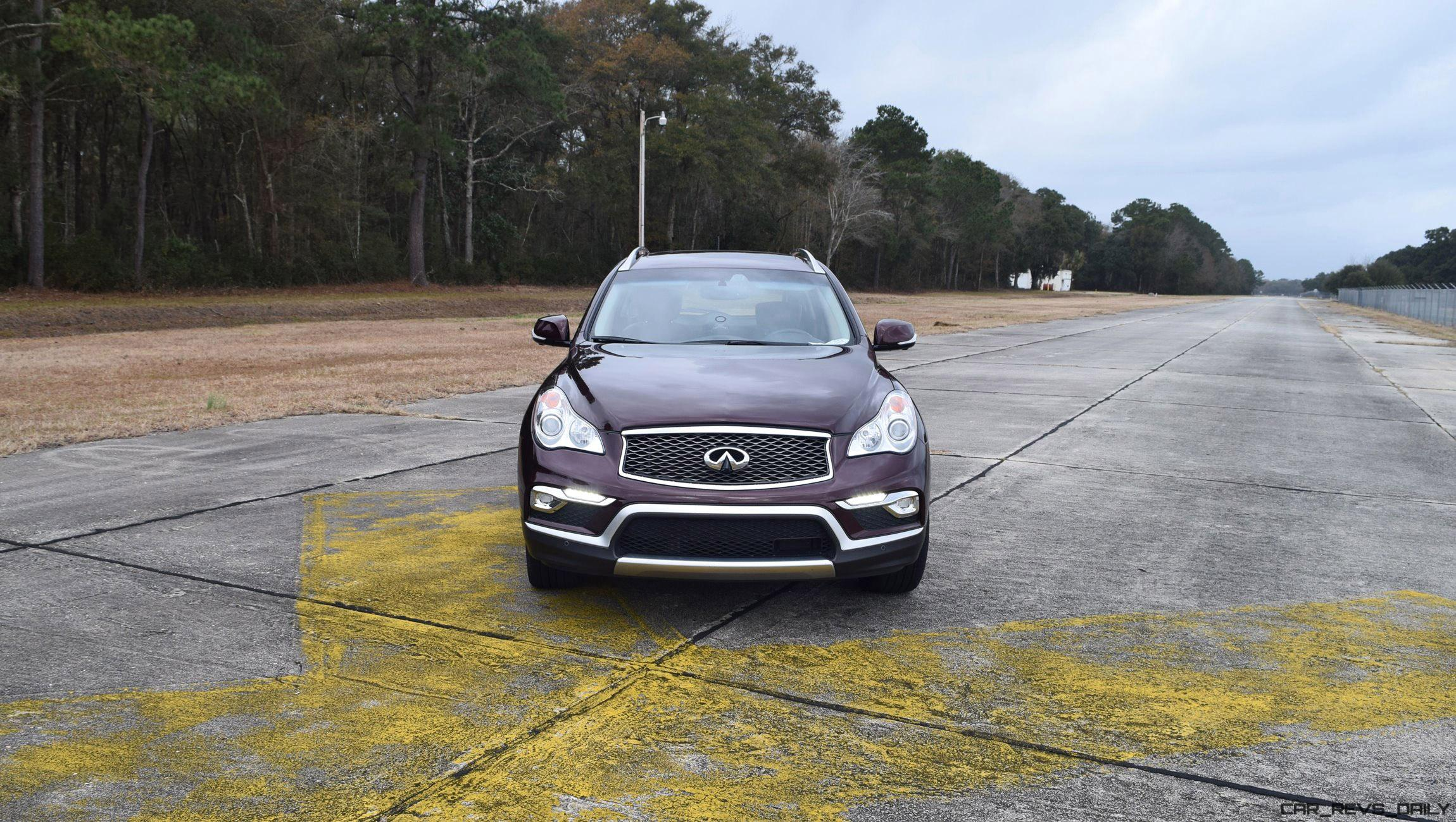 infiniti test review road