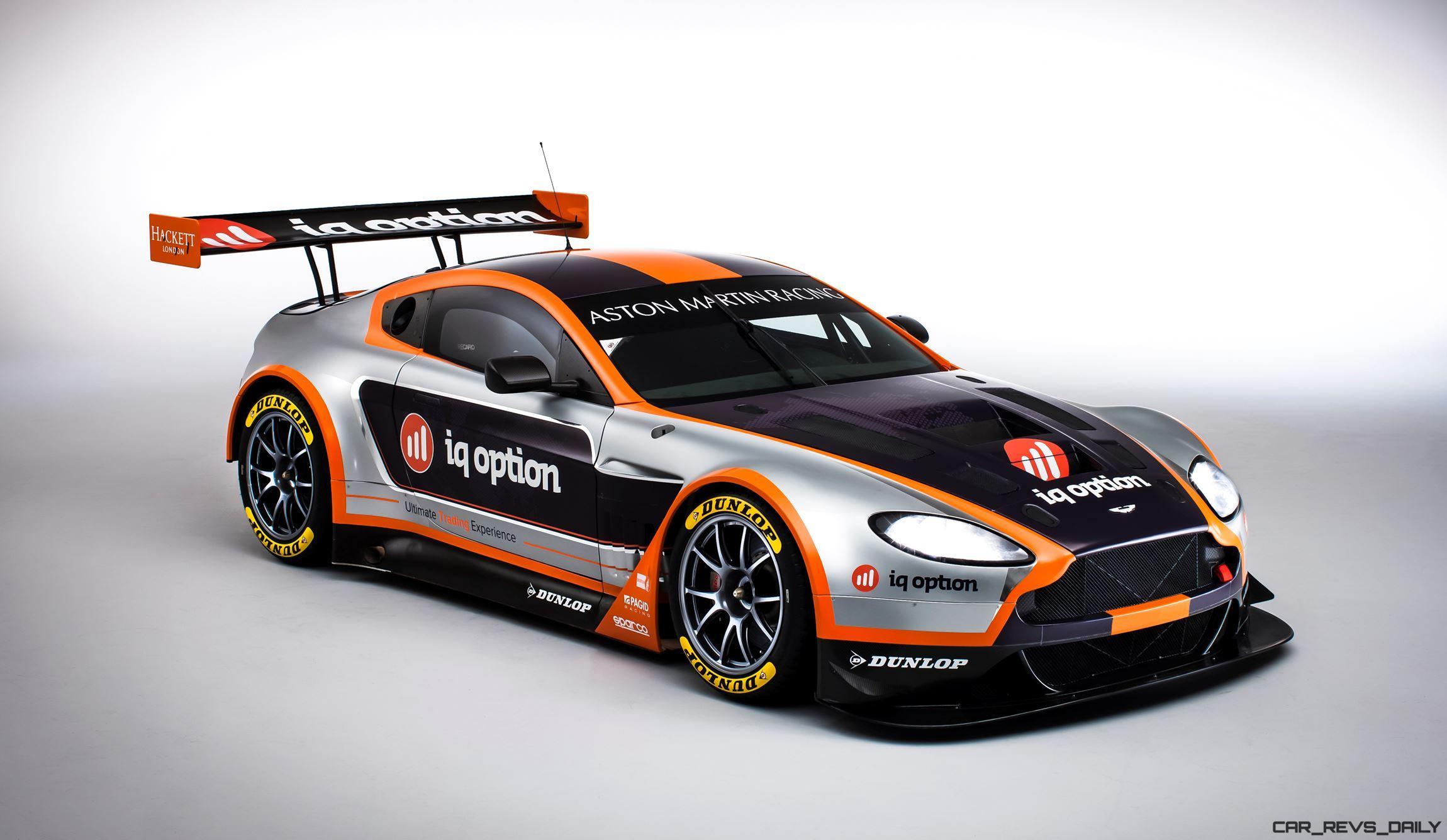 Aston Martin Vantage Gte Complements Racecars Dismal