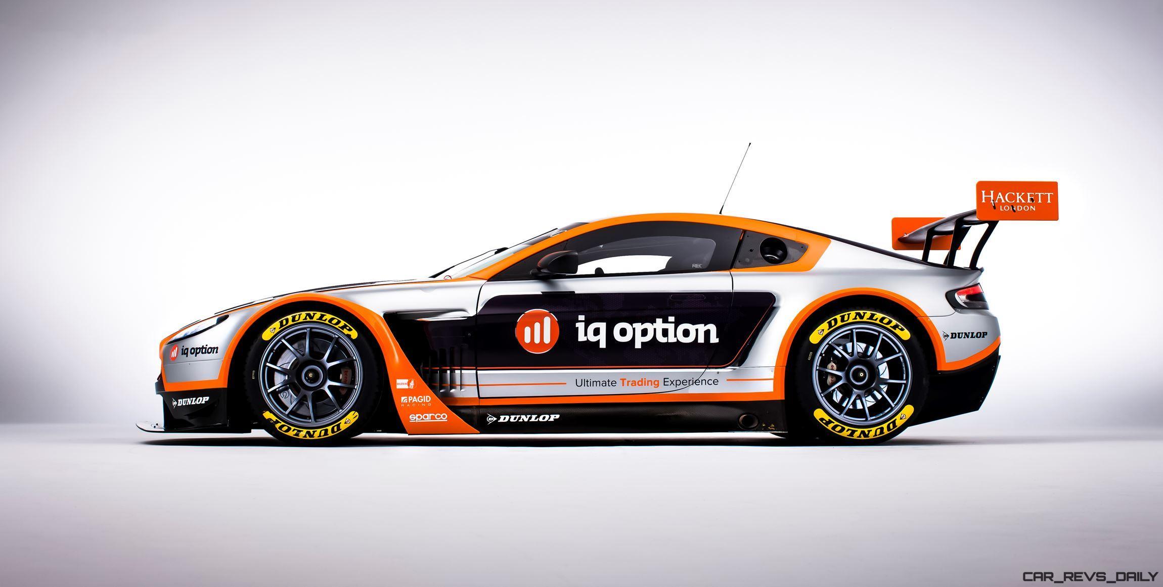 2016 aston martin v8 vantage gte complements v12 racecars; dismal