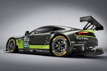 2016 Aston Martin V8 Vantage GTE Complements V12 Racecars; Dismal Results Expected