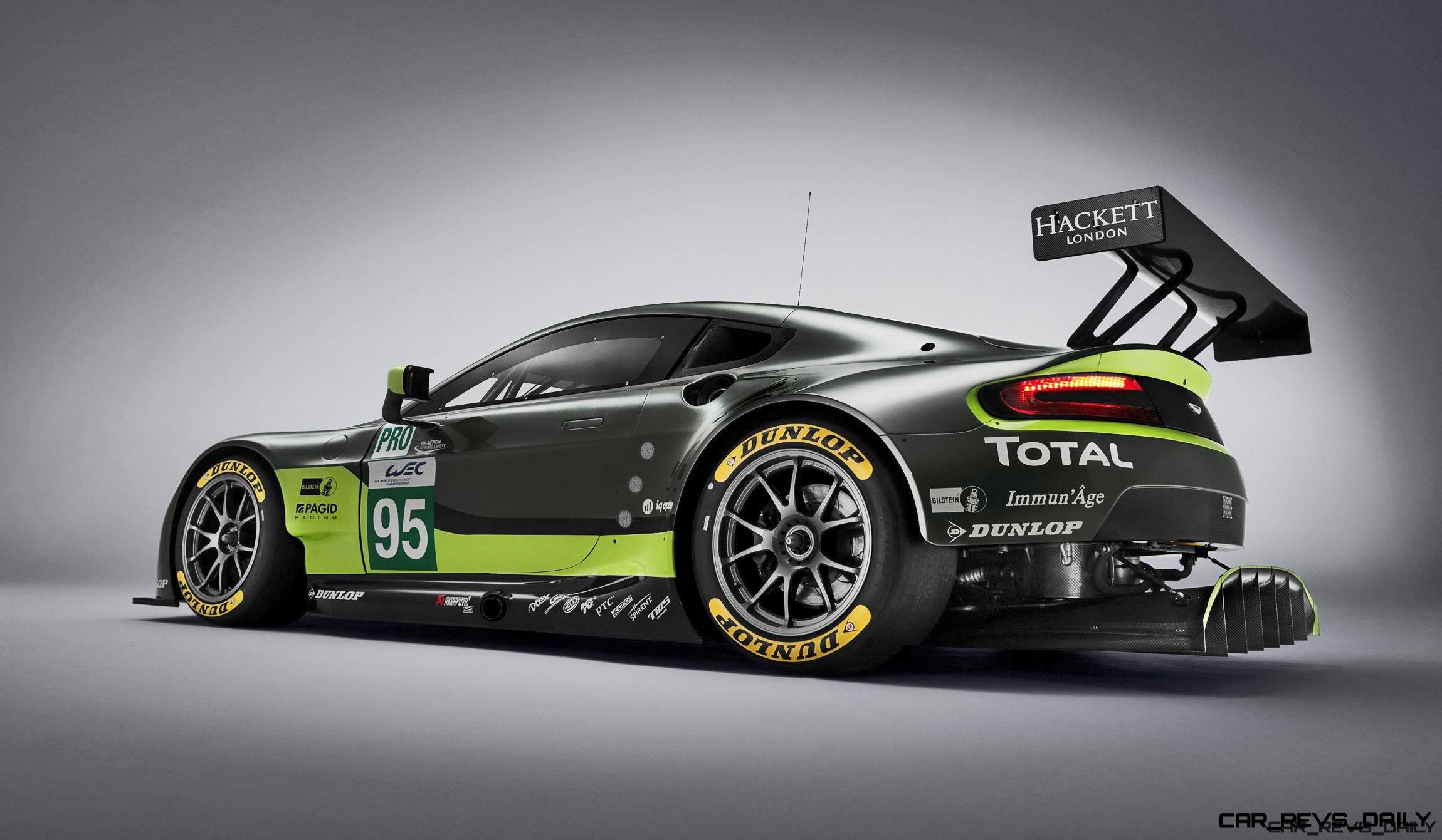 2016 Aston Martin V8 Vantage Gte Complements V12 Racecars Dismal Results Expected Car Revs Daily Com