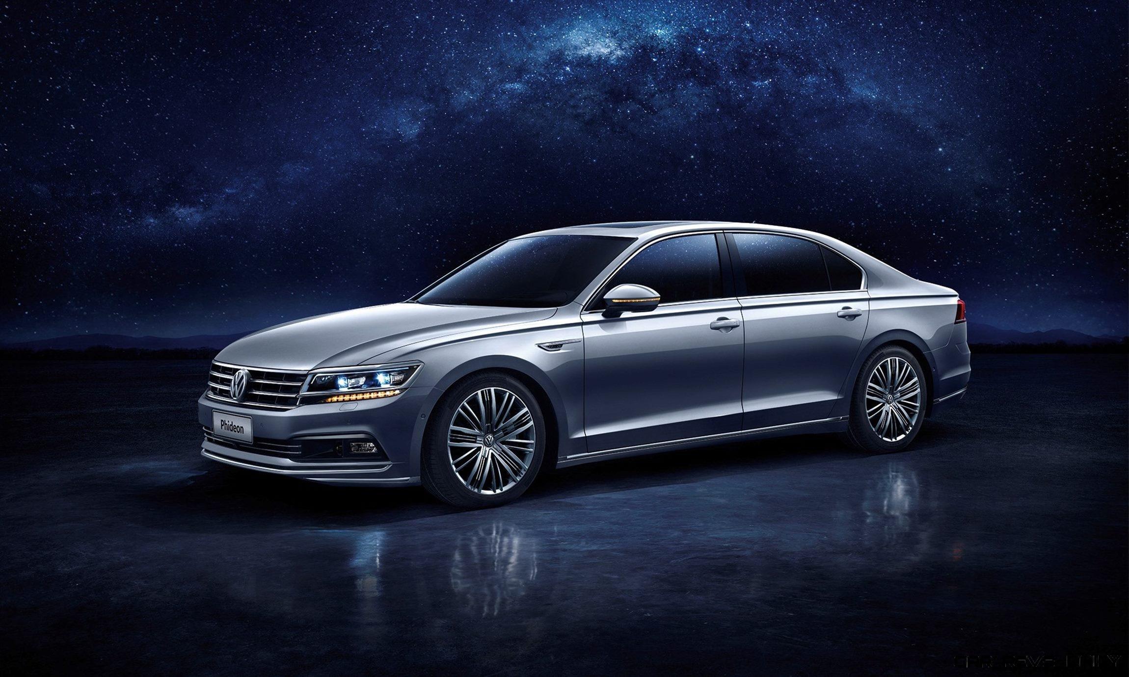 Geneva Debuts 2016 Saic Volkswagen Phideon China Only