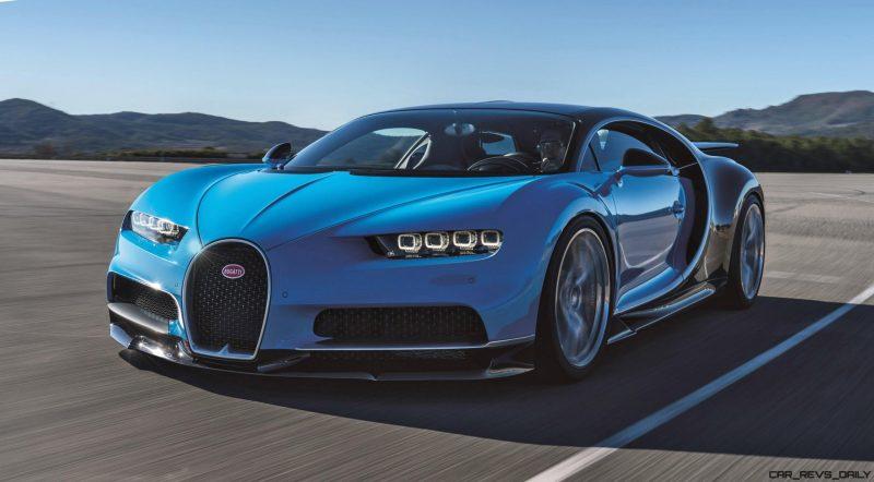 2017 Bugatti CHIRON Black Dynamic 10