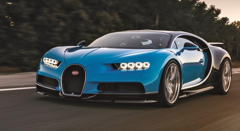 2017 Bugatti CHIRON Black Dynamic 11