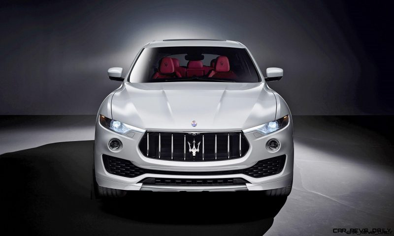 2017 Maserati LEVANTE Is Official! 2017 Maserati LEVANTE Is Official!