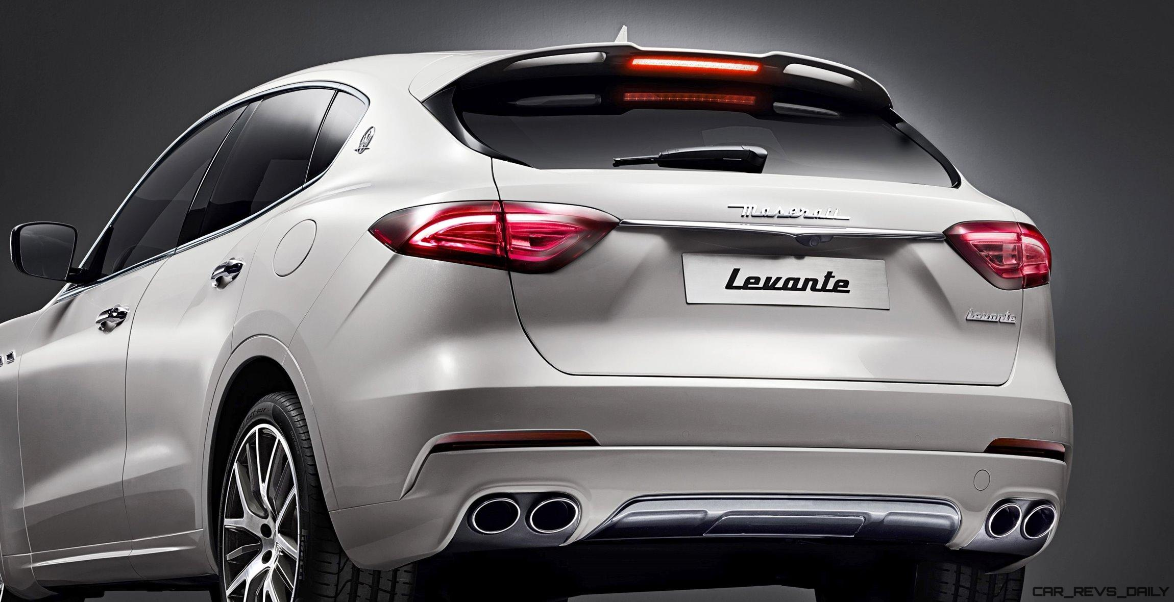 2017 maserati levante is official car revs. Black Bedroom Furniture Sets. Home Design Ideas