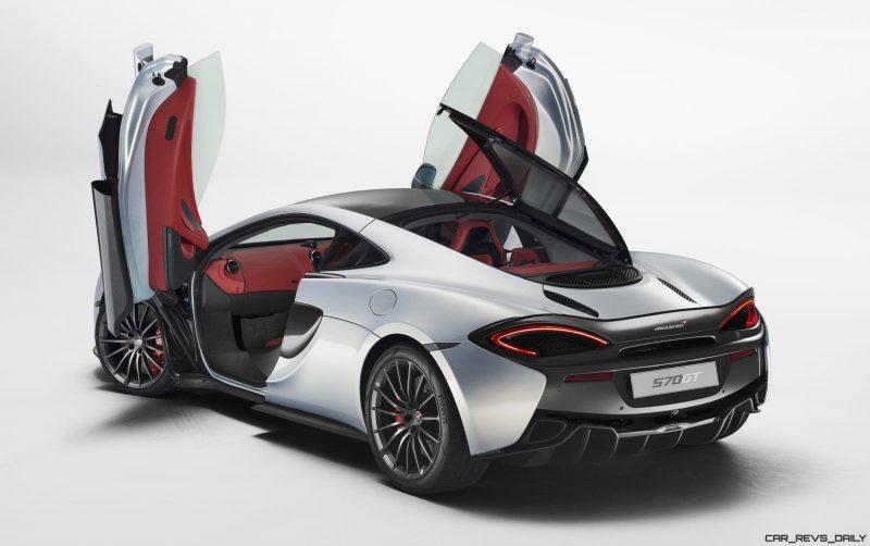 2017 McLaren 570GT 4