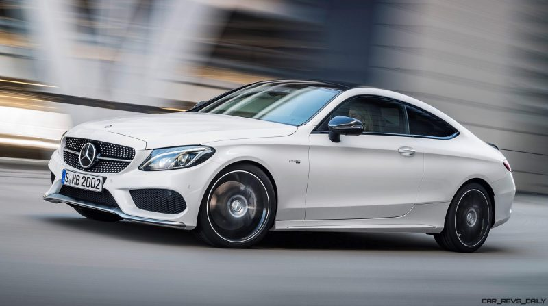 2017 Mercedes-AMG C43 Coupe 2