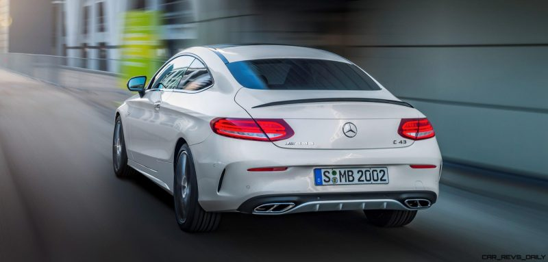 2017 Mercedes-AMG C43 Coupe 6