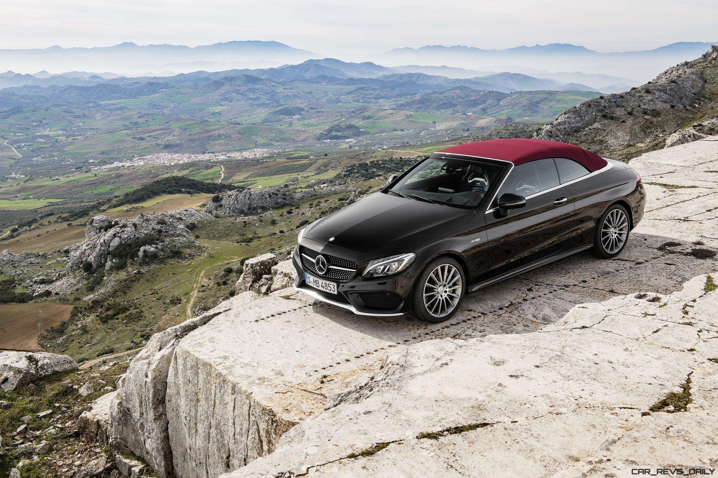 update1 367hp 2017 mercedes benz c43 cabrio leads. Black Bedroom Furniture Sets. Home Design Ideas