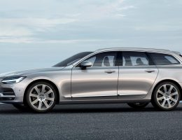 2017 Volvo V90 Debuts – 400HP T8 Engine, Low-Roof Look Marks Return to Form