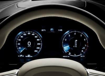 Volvo V90 Driver Display