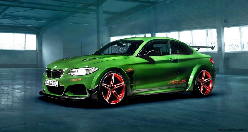 Maus Panzer Acl2 By Ac Schnitzer Is 570hp 38s Bmw M235i Evo