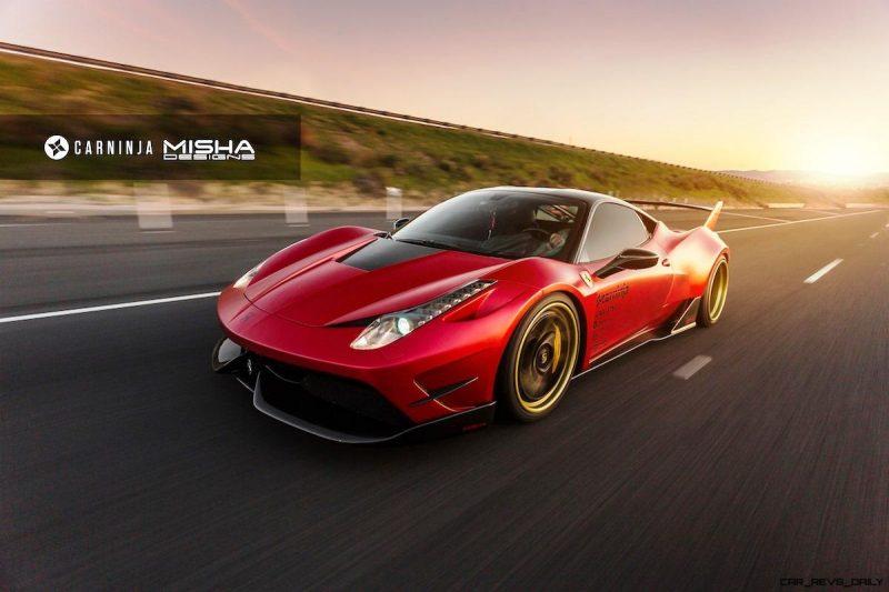 Ferrari-458-wide-body-kit-CarNinja-Misha-Designs-Savini-1