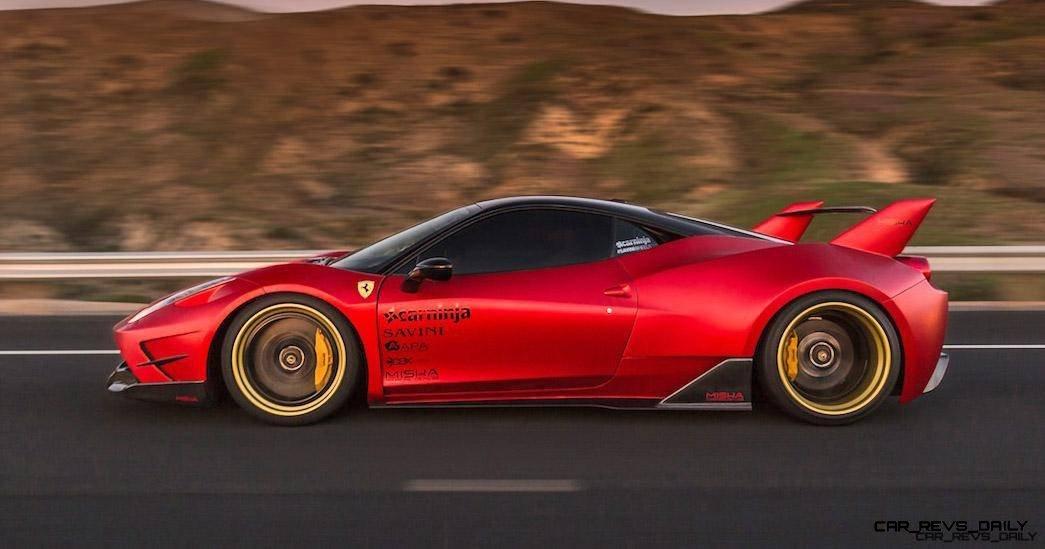 Update1 – Ferrari 458 Widebody by MISHA Designs Is Shockingly Sexy Redesign