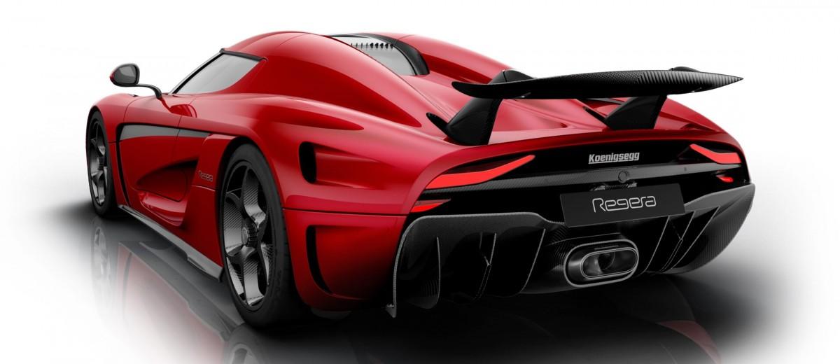 Koenigsegg Regera Production Spec Hypercar King