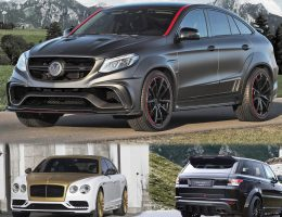 MANSORY Geneva 2016 – AMG GLE63, Range Rover Sport and Bentley Flying Spur