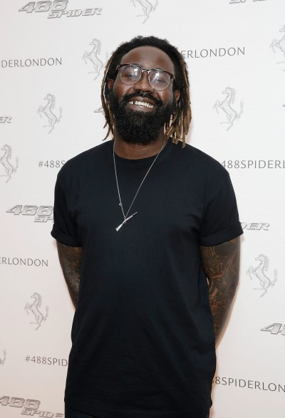 Mikill Pane, UK launch of the Ferrari 488 Spider at the Watches of Switzerland store London