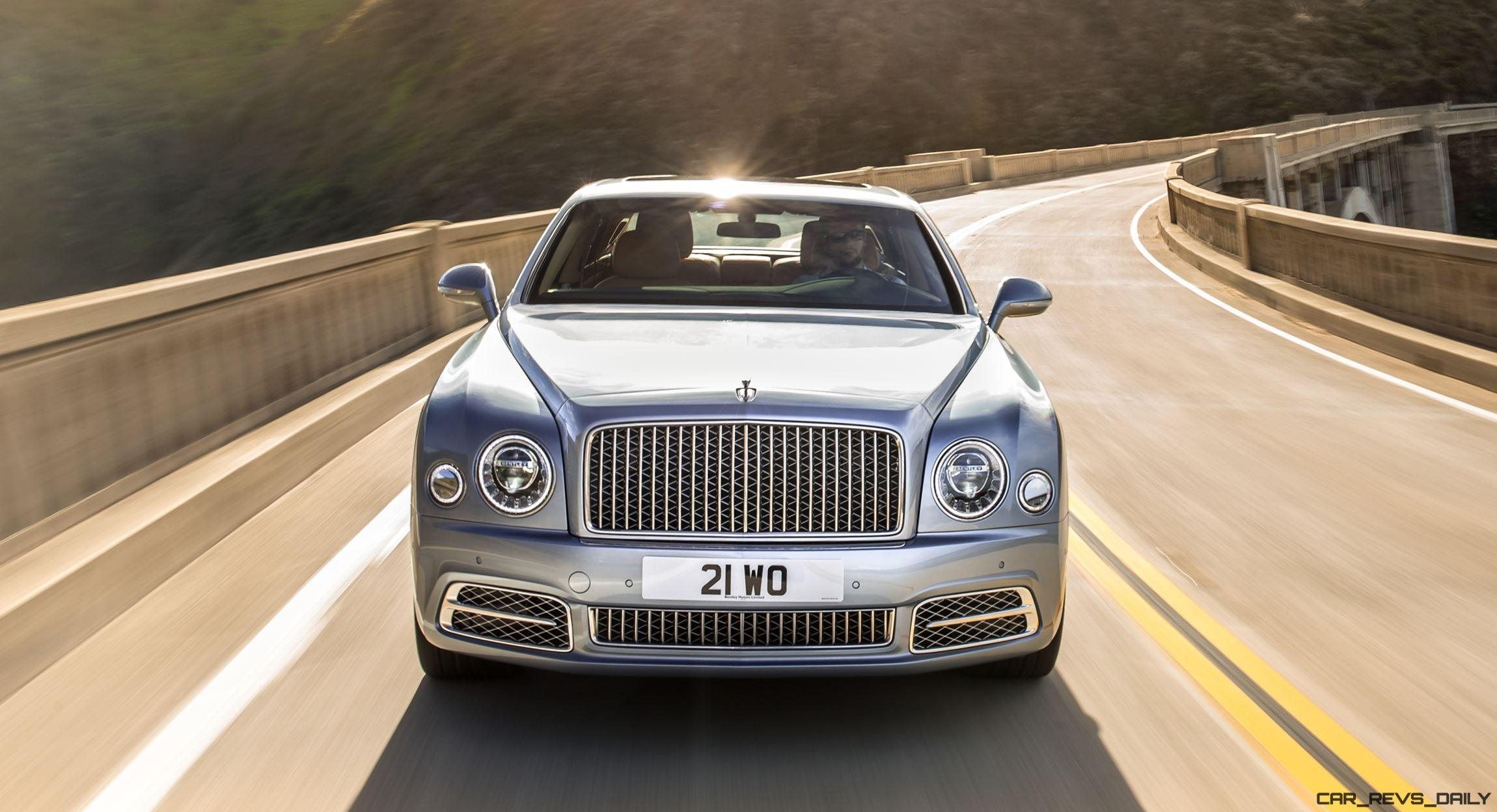 2017 Bentley MULSANNE Revealed - Refreshed Styling + Tech Leaves Bug