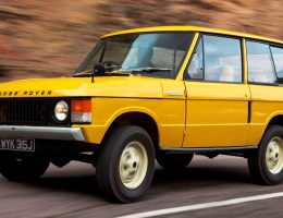Classic Icons Gallery – 1971 RANGE ROVER and 1970 RR Prototype – On Safari in Morocco