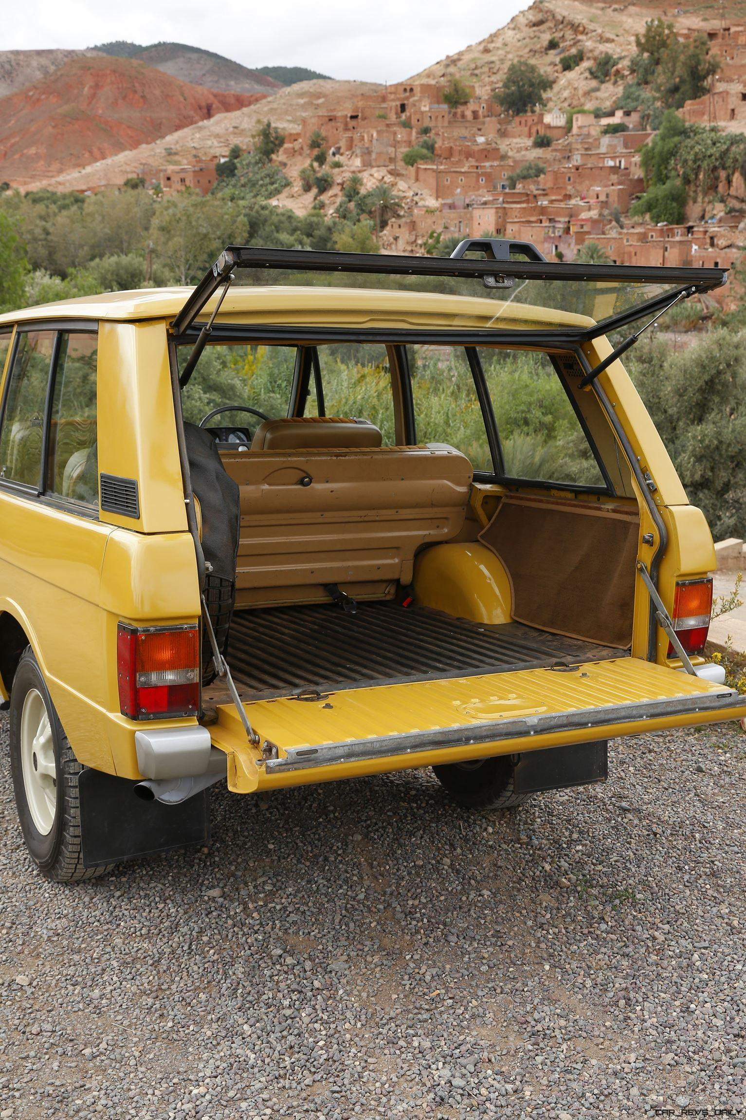 Classic Icons Gallery 1971 Range Rover And 1970 Rr