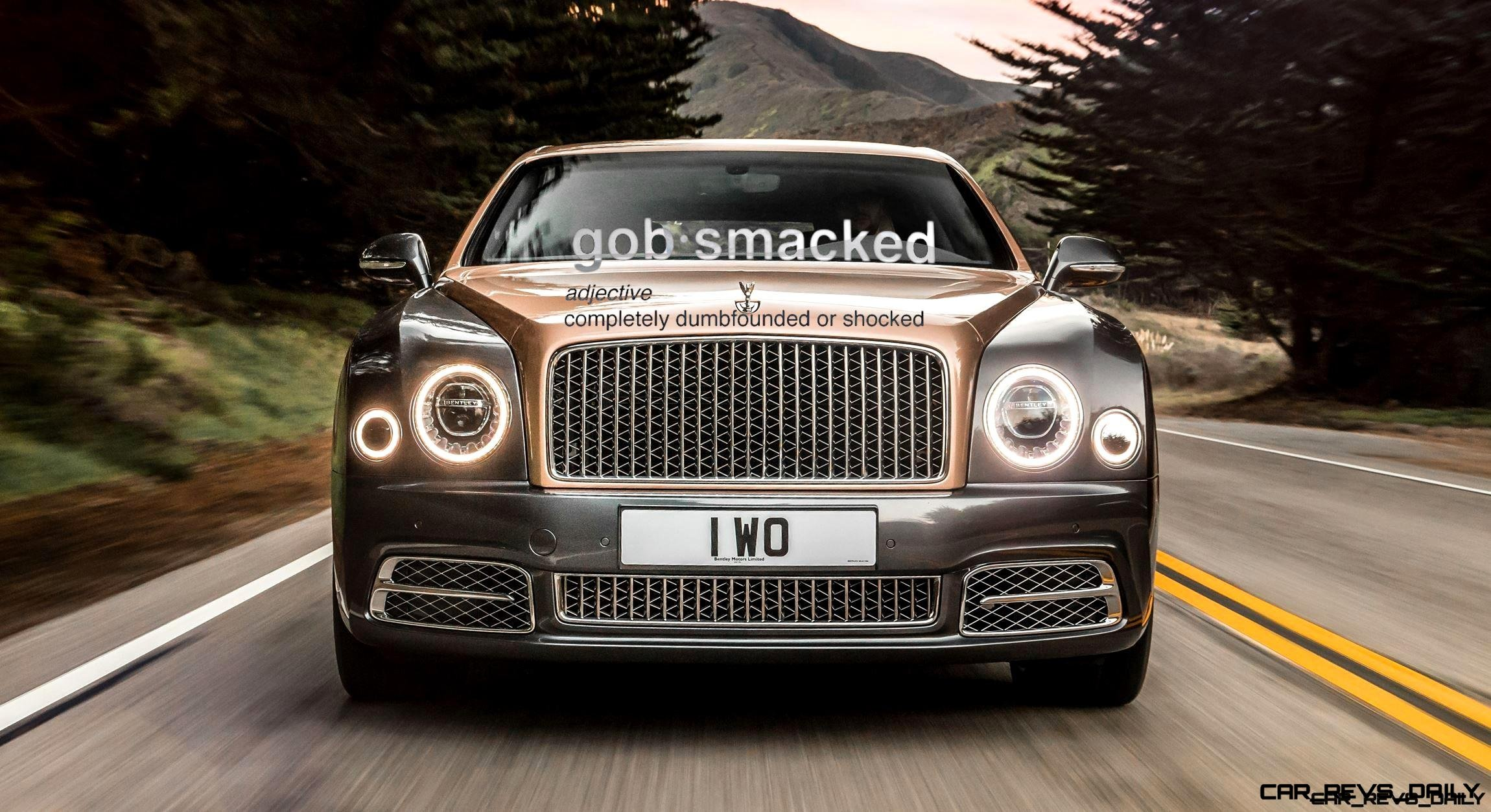 2017 Bentley MULSANNE Revealed - Refreshed Styling + Tech