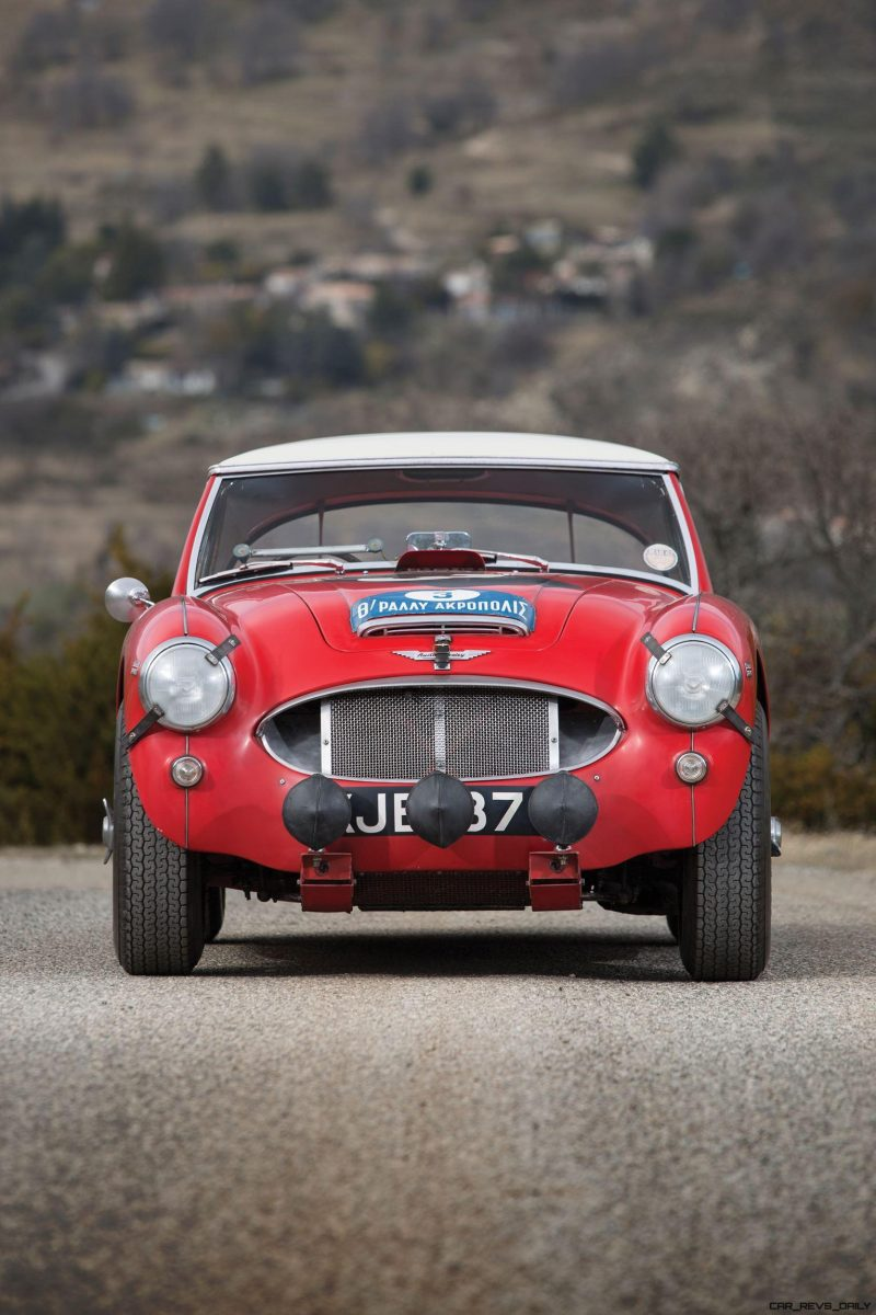 1961 Austin-Healey 3000 Mk I Works Rally 12