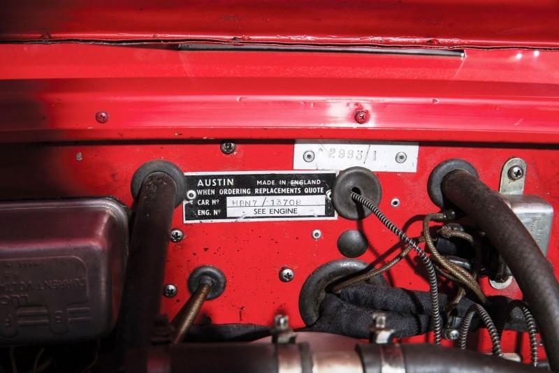 1961 Austin-Healey 3000 Mk I Works Rally 26