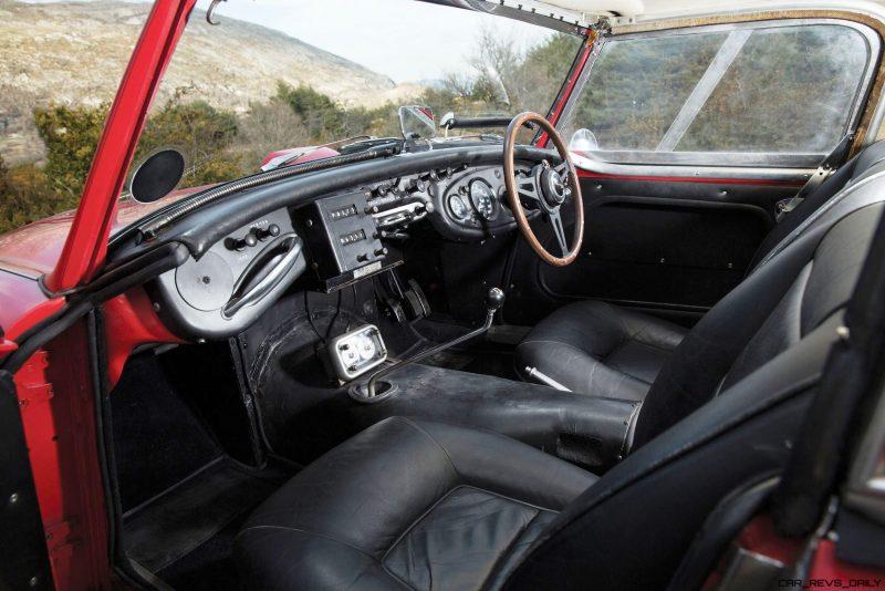 1961 Austin-Healey 3000 Mk I Works Rally 4