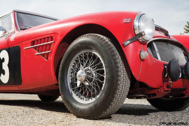 1961 Austin-Healey 3000 Mk I Works Rally 9
