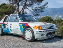 RM Monaco 2016 – 1984 Peugeot 205 Turbo 16 Evolution 1 Group B