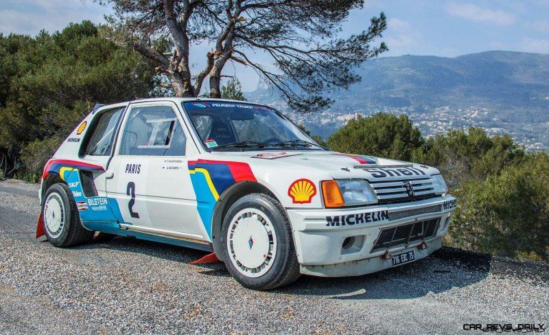 1984 Peugeot 205 Turbo 16 Evolution 1 Group B 1