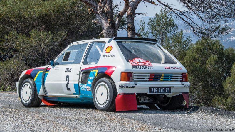 1984 Peugeot 205 Turbo 16 Evolution 1 Group B 2