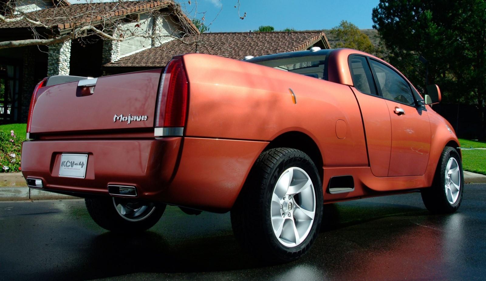 Kia Soul Colors >> Concept Flashback - 2004 Kia KCV4 Mojave