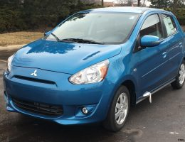 First Drive Review – 2015 Mitsubishi MIRAGE ES