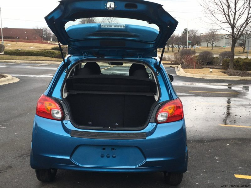 2015 Mitsubishi Mirage ES Review - Anthony Fongaro 2